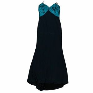 Amsale I Strapless Mermaid Gown